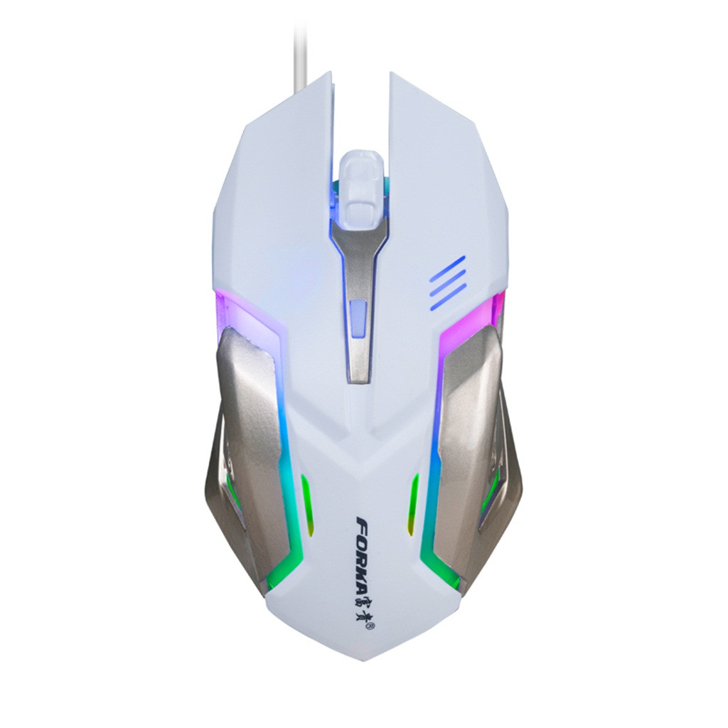 LED Wired Gaming Mouse Professional 4 Buttons 1600DPI Adjustable Optical Mice