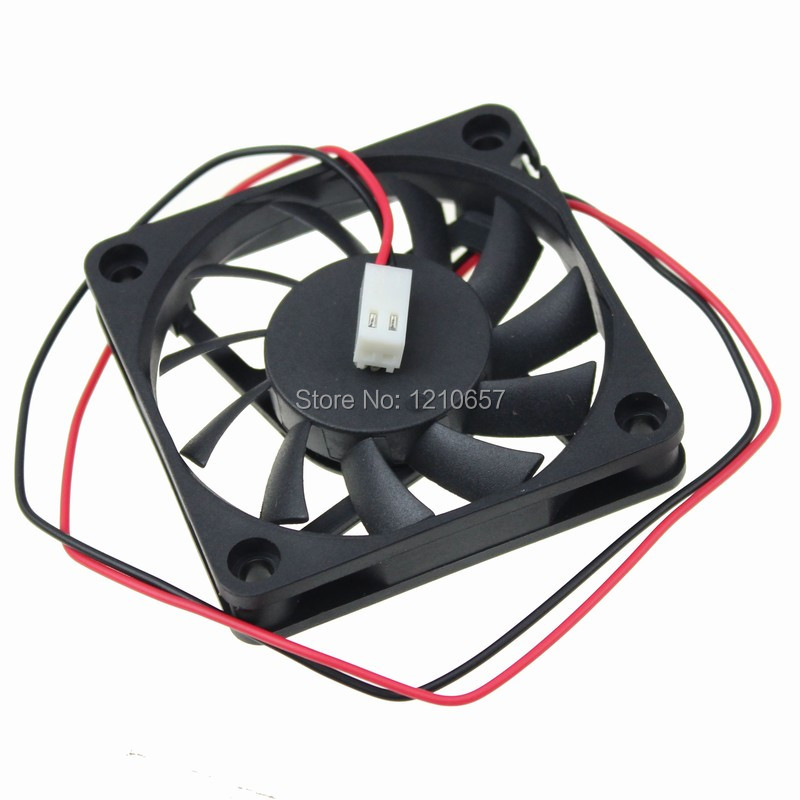 5 PCS LOT DC 5V 2Pin 2510 Connector Motor 6010 60mm 60*60*10mm 6cm Computer Case Cooling Fan free shipping y s tech 6cm 60 60 10mm 6 6 1cm 6010 fd126010hb 12v 0 24a 3wire cooling fan