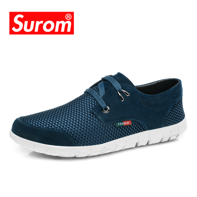 Surom Male Breathable Mesh Skateboarding Shoes new arrival cheap price WGyt5DgFuS