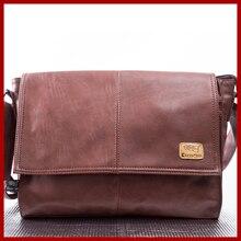 Luxus Echtem Leder Tasche männer aktentaschen Business-tasche mannkurierbeutel umhängetasche Für Männer laptop aktentasche kostenloser versand
