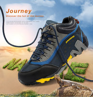 2018 New Outdoor Hiking Shoes For Mens Hight Top Sneakers 3 Color Available