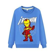 Футболки для мальчиков с принтом «Мстители 4», «супергерой Марвел», «Человек-паук» хлопковая футболка, Детские крутые вечерние футболки с длинными рукавами футболки для девочек, куртка