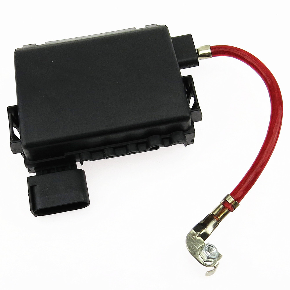 SCJYRXS Battery Fuse Box With Cable For Beetle Golf Bora MK4 A3 Octavia Seat Leon Toledo 1J0937617D 1J0937550AA <font><b>1J0937550</b></font> image