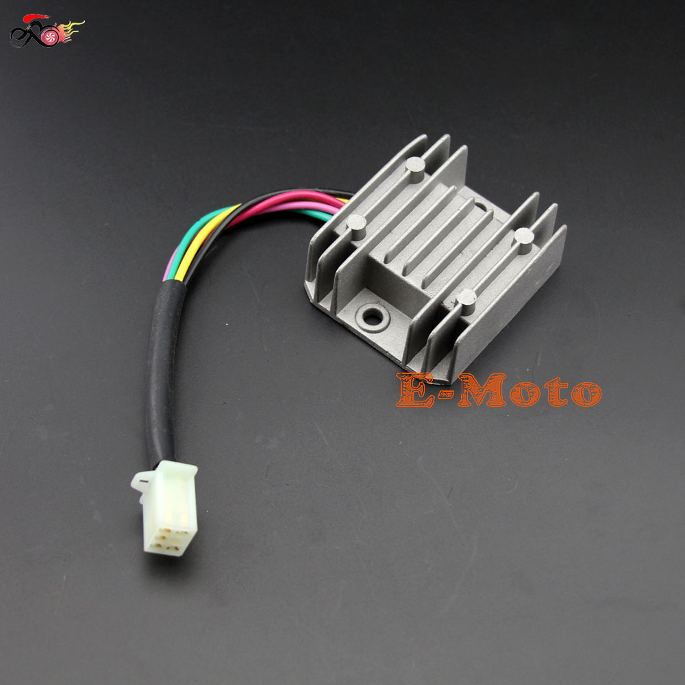 125cc 150cc Scooter ATV Voltage Regulator Rectifier font b GY6 b font 157QMJ 5 font b 50cc scooter regulator rectifier wiring diagram 50cc scooter Ignition Coil Wiring Diagram at gsmportal.co