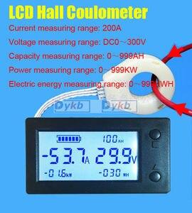 Image 1 - אולם דיגיטלי מד DC 0 ~ 300V 50A 100A 200A 400A /999AH/999KW/999KWH Coulometer סוללה בוחן עופרת חומצה/ליתיום סוללות