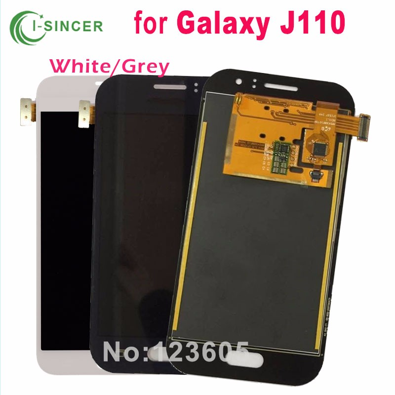 ФОТО 5PCS/LOT For Samsung Galaxy J1 Ace J110 J110h ekran LCD Display With Touch Screen Digitizer Assembly Replacement Free DHL