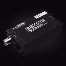 SSRIVER 3G SDI a HDMI Convertidor SDI Extender Adaptador para conducir Monitores HDMI con adaptador de Corriente de LA UE EE.UU. REINO UNIDO AU enchufe