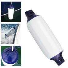 PVC Protected Inflatable Boat Fenders Suitable Small Boats Mooring Buffers Anti-collision Ball Boat Fender Mounted Horizontally