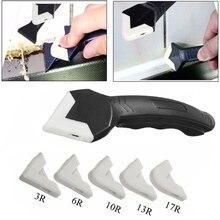 Espátula angular 3 en 1 sellador, lechada de silicona, juego de herramientas, espátula, espátula, limpiador de ventanas de cocina y cemento