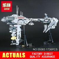 2017 New LEPIN 05083 Star Wars Series Dental Warships 1736Pcs Educational Building Blocks Bricks Toys Model