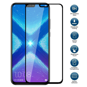 Image 4 - protective glass For Huawei honor 8x case tempered glas on huawei honor 20 10 lite 7x 7a 7c pro 8s 8a 8c 8x x8 screen cover film