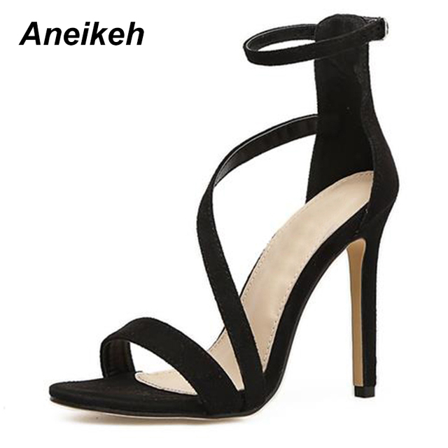 Товар Aneikeh New Fashionable Sexy Design Women Line Style Buckle ... a93f746fde0b