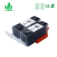 2 pcs 520XL 521XL ink cartridge compatible PGI520 CLI521 for Canon Pixma MP540 MP620 MP630 MP640 MP980 MP990 MX860 MX870 IP36003