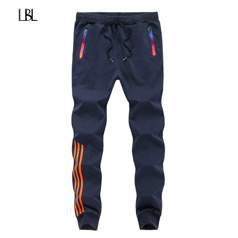 Casual Pants Men Skinny Mens SweatPants Brand Joggers Male Cotton Sportswear Thick Warm Long Casual Trousers Men Straight Pants