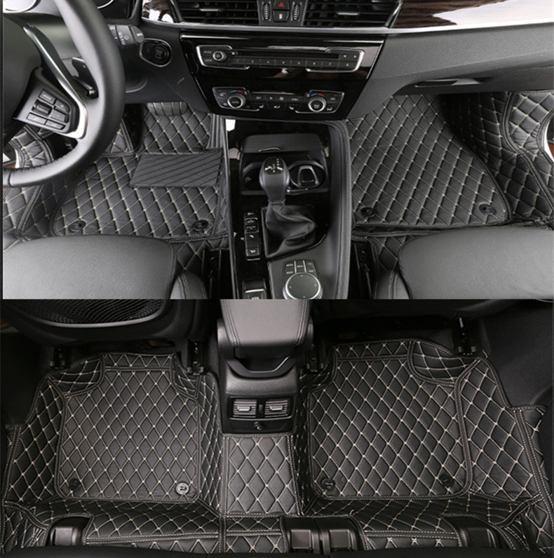 High-end custom car floor mats for BMW X1 X3 LHD  All 3D liner surrounded waterproof Environmental protection mats high quality silk 35mm 200m blank washing mark high end laundering tags for garment provide custom order