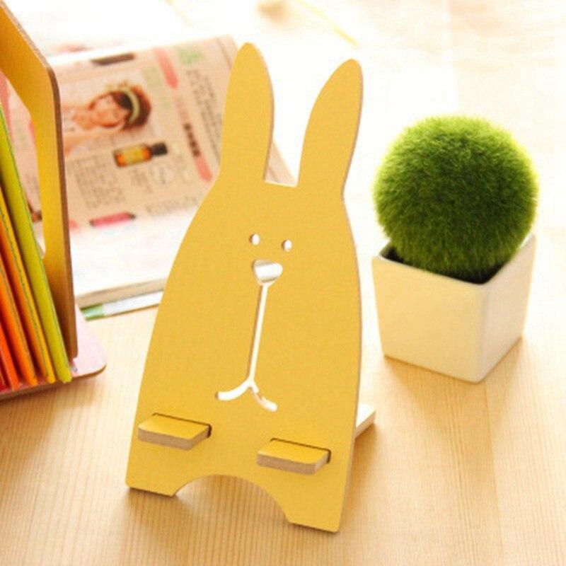 Милый кролик Desktop Съемная Портативный ленивый кронштейн подставка держатель для мобильного телефона легкий универсальный для Iphone для Samsung