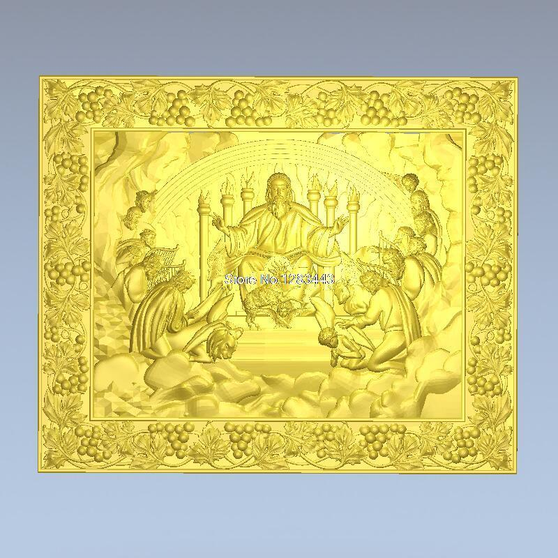 все цены на High quality 3d model relief  for cnc or 3D printers in STL file format The apostles of Jesus онлайн