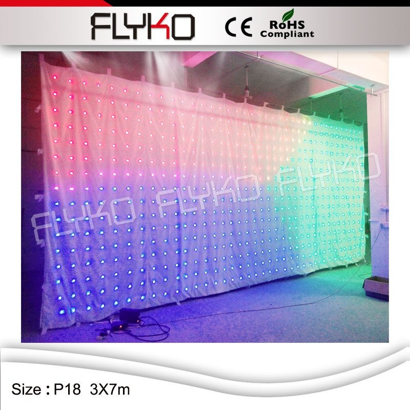 LED video curtain14