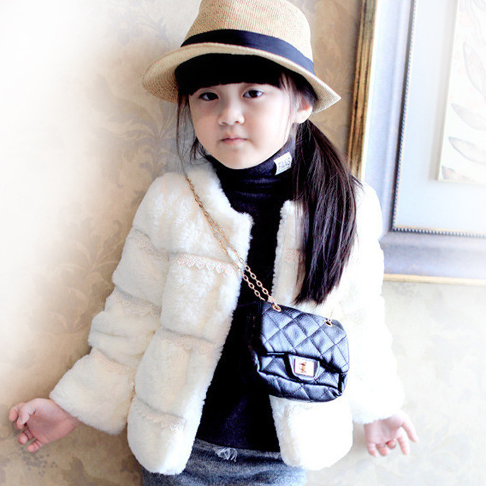 High Quality 2018 New Girls Coat Kids Autumn Winter Jackets Warm Coat For Children Outerwear Cotton Cardigan Fur Jacket стоимость