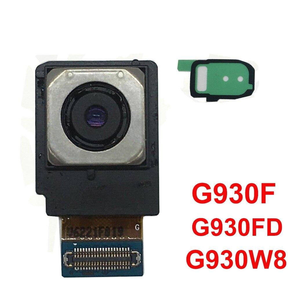 BINYEAE оригинал только для Samsung Galaxy S7 G930F G930FD G930W8 задний модуль камеры гибкий кабель + клей для камеры