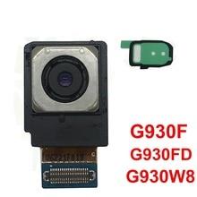 ФОТО binyeae original fit for samsung galaxy s7 g930f g930fd g930w8 back camera rear module flex cable+camera bracket pad adhesive