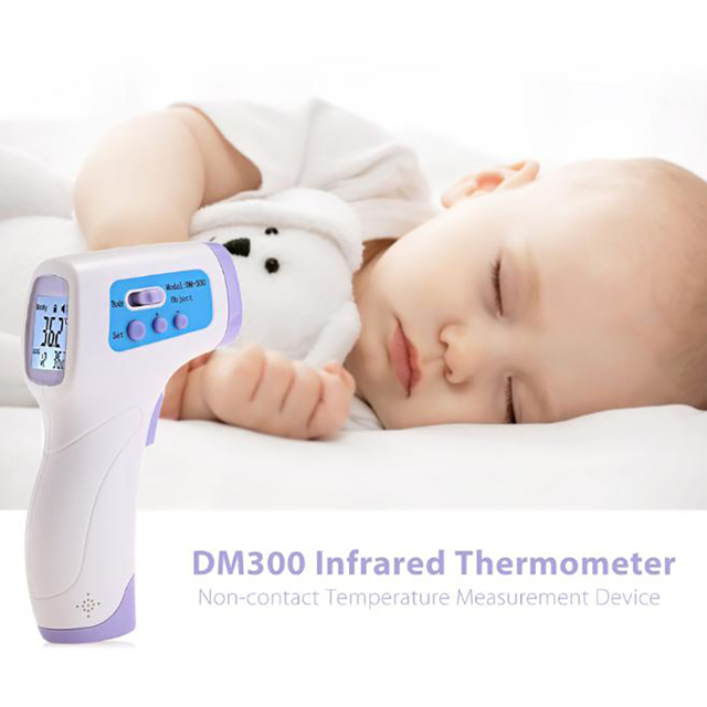 New Fashion Baby / Adult Digital Thermometer Multi-Function Infrared Forehead Body Thermometer Temperature Measurement Device