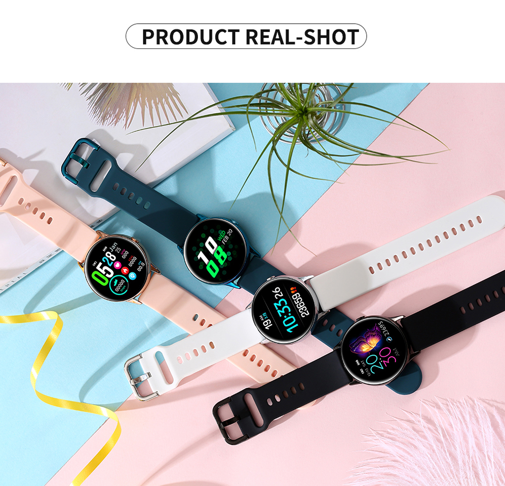 Women IP68 Waterproof Smart Watch for iPhone xiaomi LG with Bluetooth and Heart Rate Monitor Fitness Tracker 1