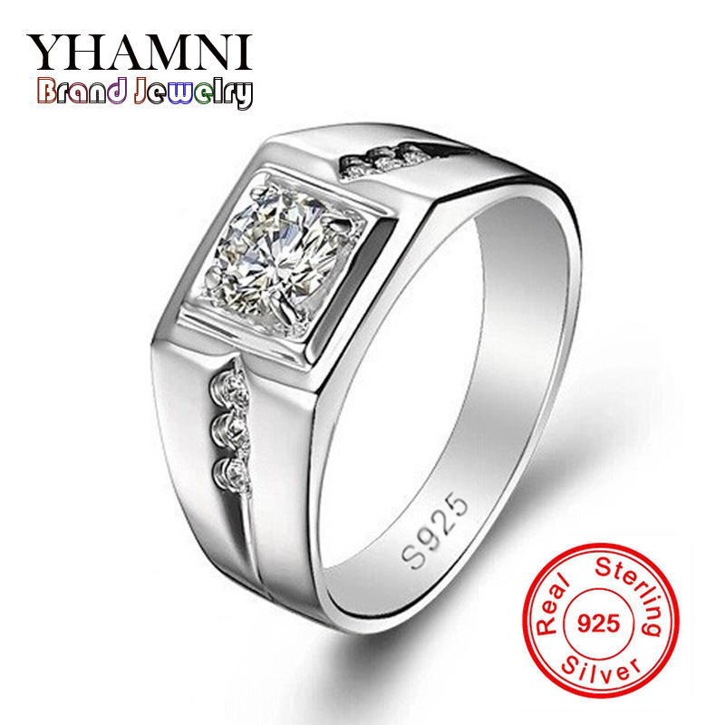 Promotion Fashion Men Ring 925 Silver Filled Wedding Rings for