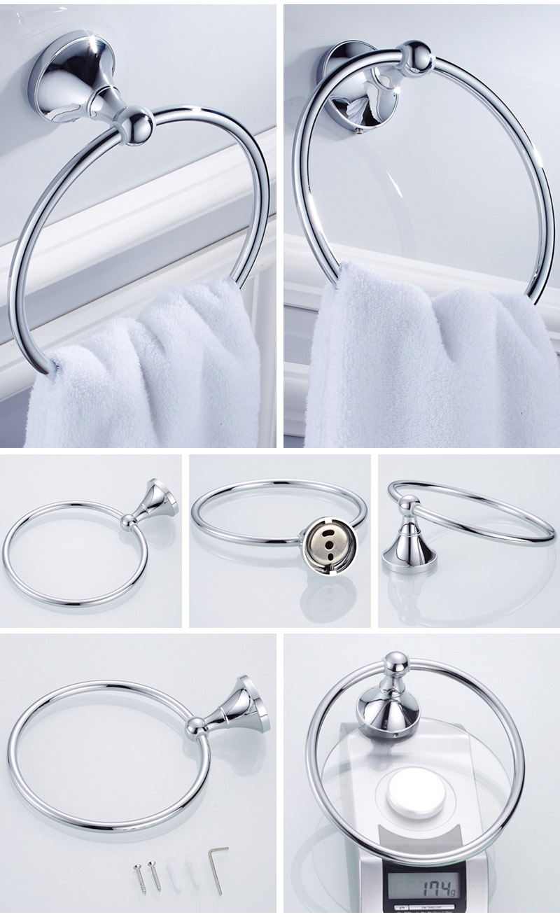 towel ring Holder chrome 2