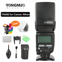YONGNUO YN685 E TTL Flash Speedlite 1/8000s Radio modo esclavo luz de Flash YN685C YN685N para Canon Nikon YN622N YN560 TX RF603 II