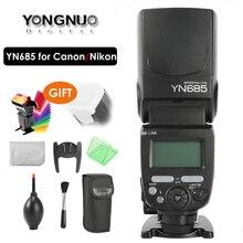 YONGNUO YN685 E TTL Flash Speedlite 1/8000s Радиоуправляемая вспысветильник YN685C YN685N для Canon Nikon YN622N YN560 TX RF603 II