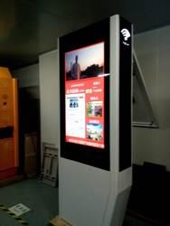 42 49 55 65 дюймов Открытый TFT lcd full hd дисплей двухсторонний android windows OS напольный все в одном DIY компьютер ПК