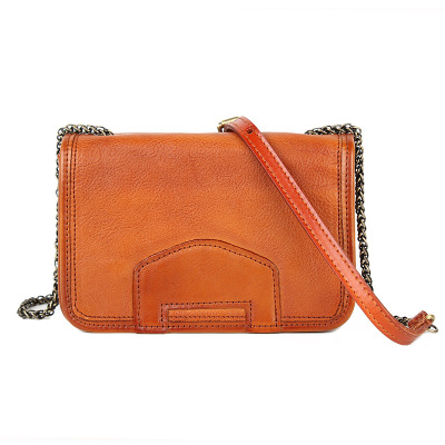 women small genuine leather chain bag lady luxury cow leather one shoulder flap bag vintage brown red green messenger bag knitting designer genuine leather ladies small woven flap purse messenger bag vintage female women s single shoulder sling bag