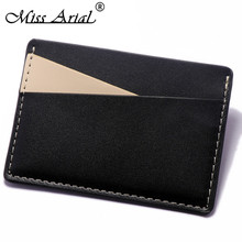 slim wallet card storage purse cardholer protector coin pocket namecard case cards holder casual tiny travel id protection