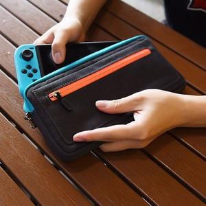 Image 5 - 新しい ns nintend スイッチ収納袋スリムキャリングケース保護任天堂コンソール喜び con ゲームアクセサリーハンドバッグ