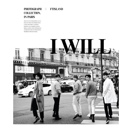 FTISLAND 5TH ALBUM VOL 5 - I WILL  [Special Album] + Photobook (64pages)) Release Date 2015-3-23 KPOP tvxq tohoshinki special live tour tistory in seoul photobook 100page release date 2015 05 29 korea kpop