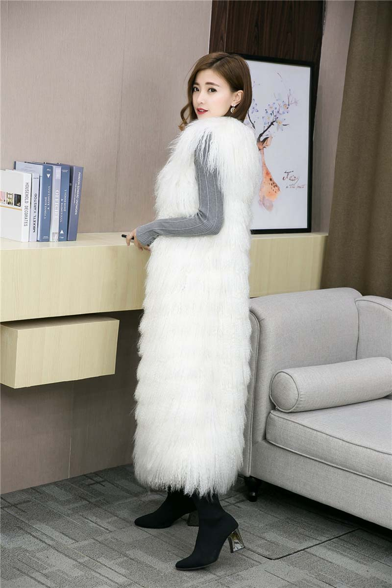 Tibet lamb fur vest long (15)