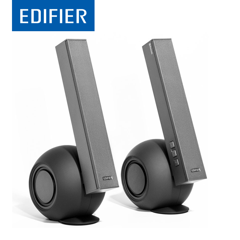 EDIFIER E10BT <font><b>Bluetooth</b></font> Bass <font><b>Speaker</b></font> Subwoofer Dual Bass Wireless <font><b>Speaker</b></font> Support Total 6 <font><b>Active</b></font> <font><b>Speakers</b></font> Drivers For max Effect