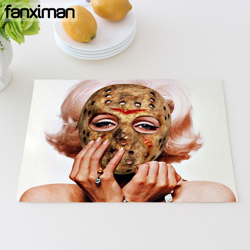 Kitchen Art 32cm: Fanximan Kitchen Decor Personalized Horror Movie Dining