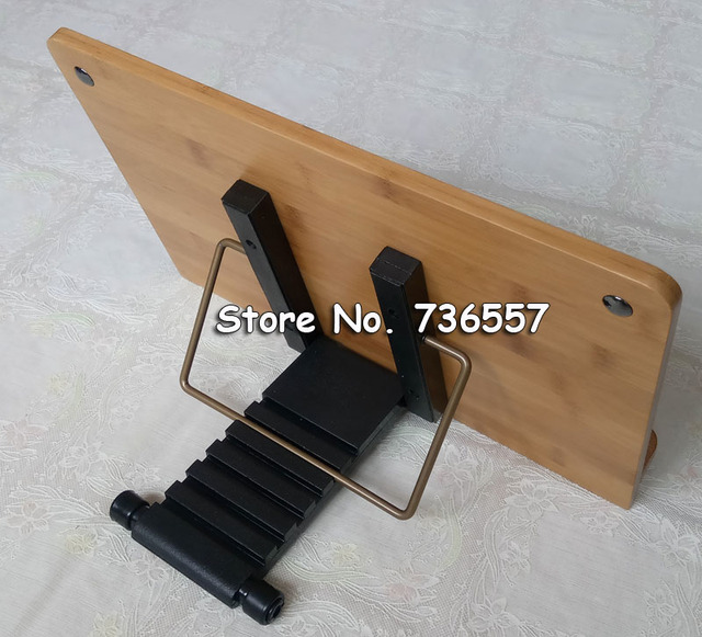 34*22cm Bamboo Book Stand Reading bamboo Large Medium Small rack ...