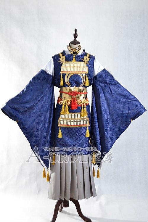 The Sword Dance Touken Ranbu Mikazuki Munechika Cosplay Costume Armor full set Custom Made Free Shipping
