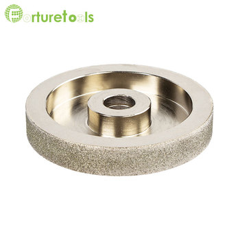 цена на 4 inch diamond coated grinding wheel for automatic optical glass lens grinder machine rough grinding M006