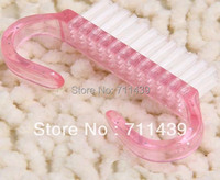 nail cleaning brush free shipping with 2 pcs
