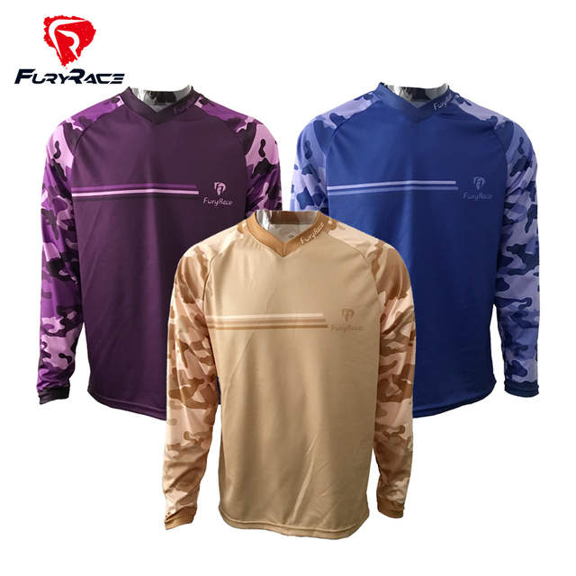placeholder Camouflage Mountain Bike Shirts Cycling Maillot Mens MTB  Clothing Motocross Motorcycle Bicycle T-shirt Women s c10f3a9c8