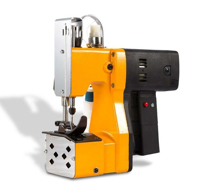 Máquina de Costura Bolsa de Arroz Perto para Selar Bolsas de Papel Bolsas Elétricos Portáteis Mais Kraft Papel-plástico Composto Máquina Seladora Mod. 330745