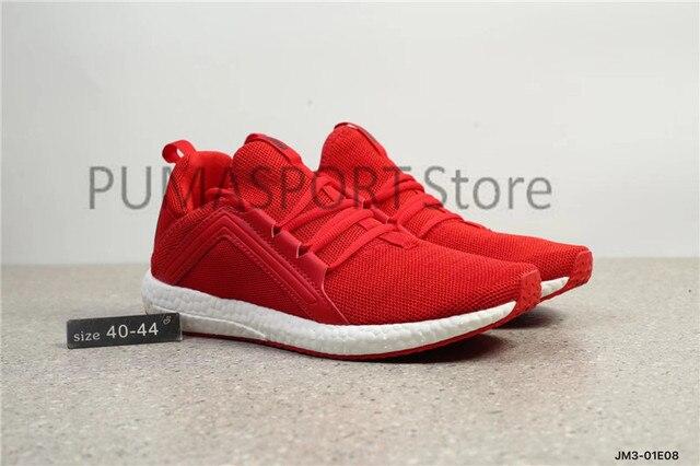 edb6b815631 New Arrival 2018 Original PUMA IGNITE Limitless Boost Men s shoes Fleece  leather Badminton Shoes Sneakers size 40-44