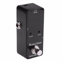 New Mighty Sound PT 06 Micro Tuner Chromatic Pedal Guitar Tuner Effects Pedal EA14