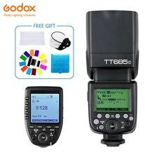 Godox TT685 TT685C Speedlite Flash Wireless TTL+Xpro-C Wireless Trigger Flash for Canon Camera 1100D 1000D 7D 6D 60D все цены