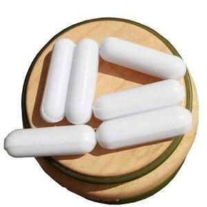 Image 4 - laboratory Magnetic Stir Bar PTFE Plain Stirring Bars without Pivot Ring white Spinbars ,cylinder shape C7x25mm, 10pcs