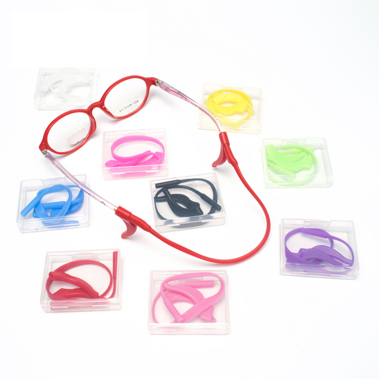 Boy Girls Eyeglasses Hook Silicone Eyewear Ear Tip Student